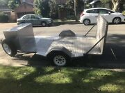 Flat bed ramped bike,quad,buggy trailer Merewether Newcastle Area Preview