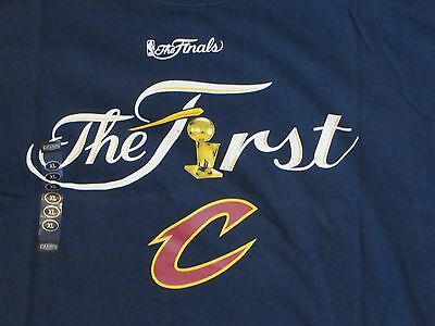 "NBA Cleveland Cavaliers Championship ""The First""  T-Shirt Large/L NWT!"