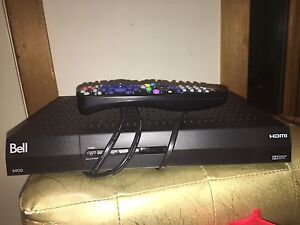 Bell HD receiver 6400 model. TWO of them.