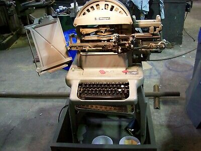 Graphotype Mod 6381 Dog Tag Printing Machine