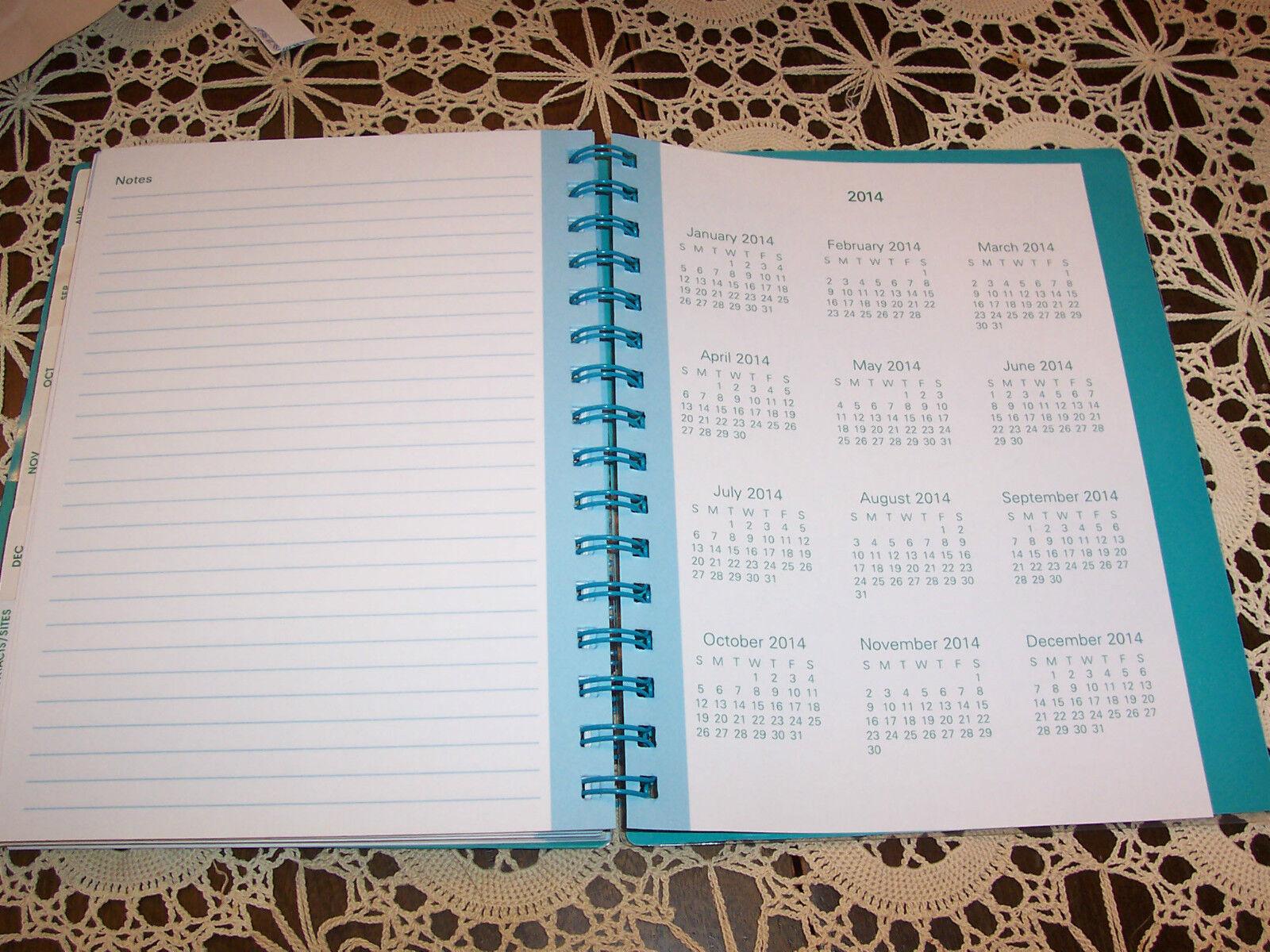 Weekly Calendar Notebook : Weekly monthly calendar tropical durable spiral