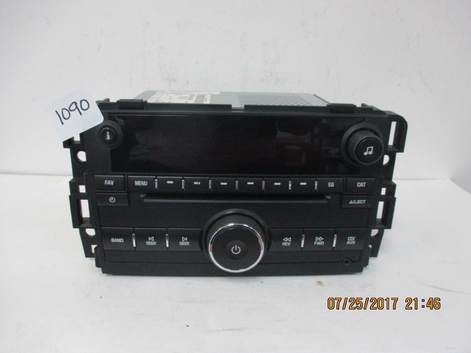 2007-09 Chevy Silverado Sierra CD Radio 25974804