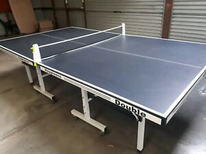 19mm double happiness folding table tennis table