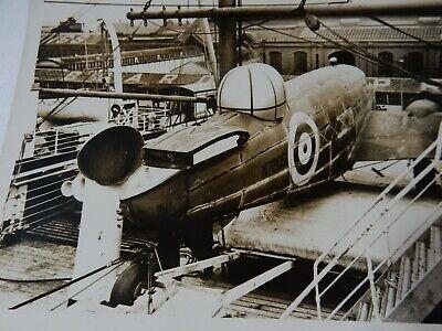 1939 FIRST ( LEASE?) Lockheed Hudson  AT LIVERPOOL DOCKS    ANDANIA  ? CUNARD ?
