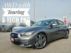2015 Infiniti Q50 Tech & Touring Pkg  Free Delivery