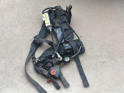 Scott 4.5 4500psi Scba Pack Frame Harness Cbrn Regulator No Mask Haz Mat