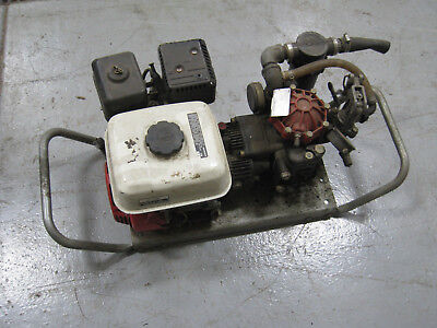 Rice Hypro Gas Powered Hydrostatic Test Pump With Honda 5.5 Motor Free Shipping