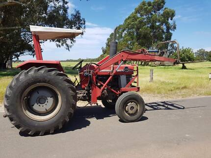 Massey 168 FEL with Multi-power