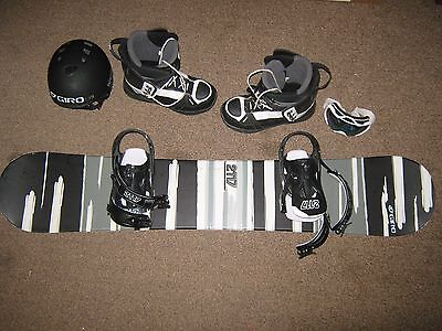 2117 of Sweden Winter Snowboard Set w/ Boots, Helmet, and Goggles