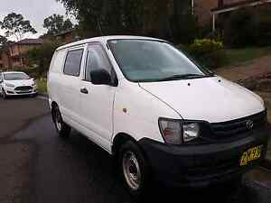 1998 toyota townace Woronora Heights Sutherland Area Preview