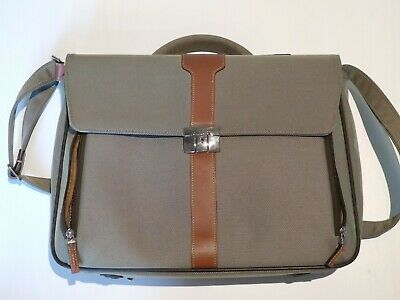 Samsonite Hommage Travel Briefcase Boardcase Laptop Bronze Shoulder Strap Top