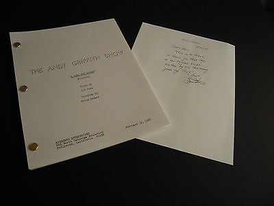 """TV Script -The Andy Griffith Show - """"A Girl for Goober"""" - March 25,1968"""
