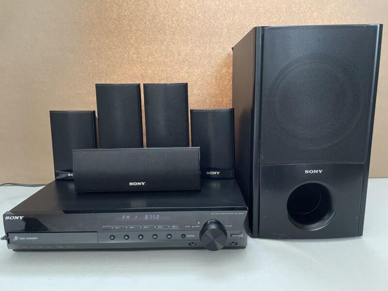 Sony DAV-HDX285 1000w 5.1 Channel Surround Sound Home Theater System w/ Spekai