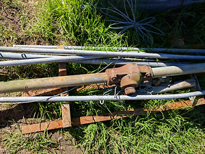 Scrap metal from a metal clothes line - Free Penshurst Hurstville Area Preview