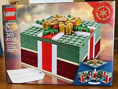 Lego 40292 Buildable Holiday Present Christmas Gift 301pcs
