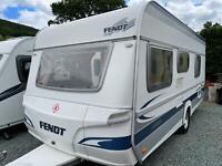 Fendt Saphir 490 TKM 5 Berth Caravan Bunk beds 2005