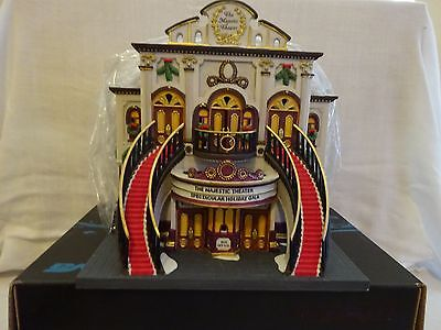 DEPARTMENT 56 - CHRISTMAS IN THE CITY 25TH ANNIVERSARY - MAJESTIC THEATER