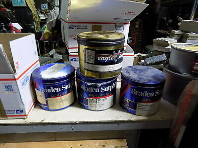 4 - 5 Lb 3 Braden Sutphin 1 Eagle Inks  Offset Press Printing Ink