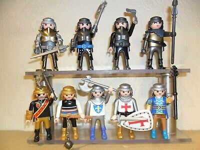 PLAYMOBIL KNIGHTS with Weapons (Medieval Figures for Castle)