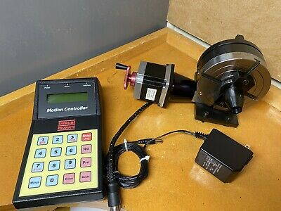 Sherline 8700 Cnc Indexer 4 Rotary Table Motion Controller 4th Axis.