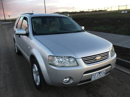 Ford Territory on LPG Gas, 5 seater with tow bar