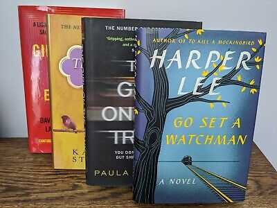 Four Best Selling Hardcover Books ( Lot of 4 books ) - Very Good Condition