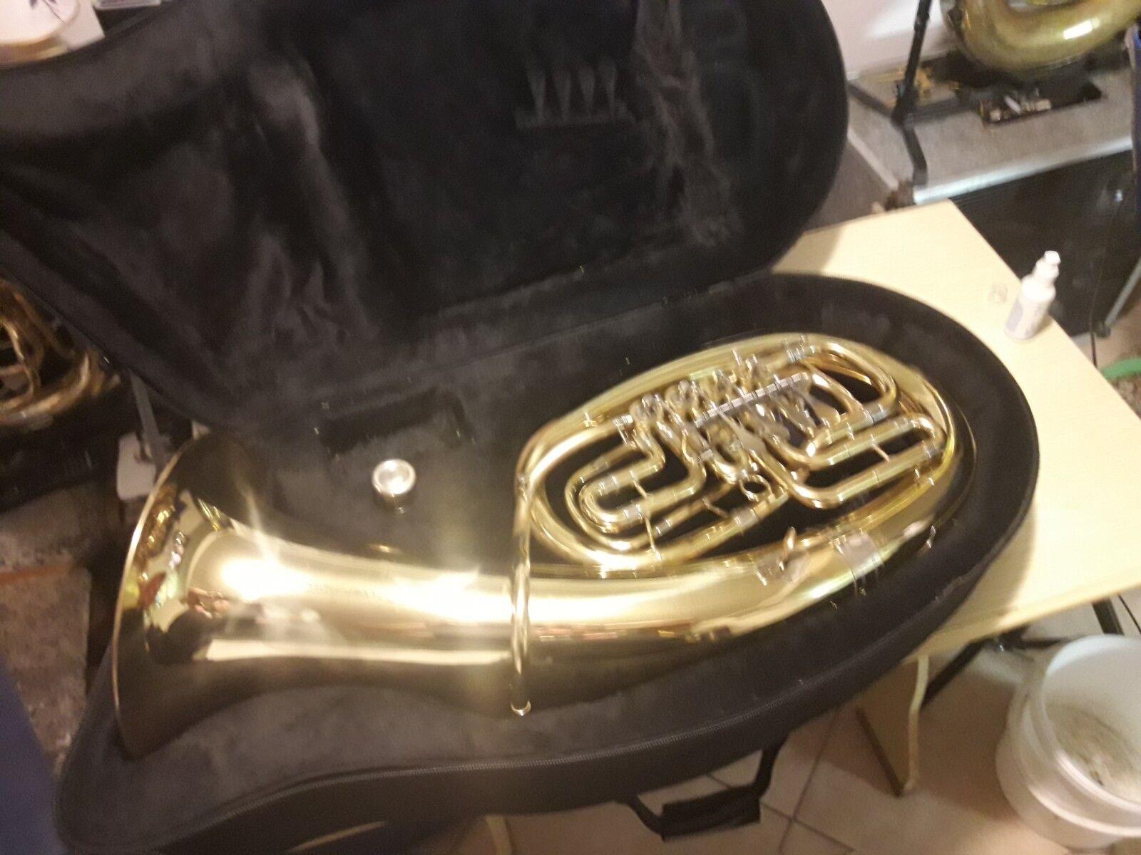Baritone Amati Kraslice Tenorhorn Bariton 4-ventile Mit Koffer Und Mundstück Jk Musikinstrumente