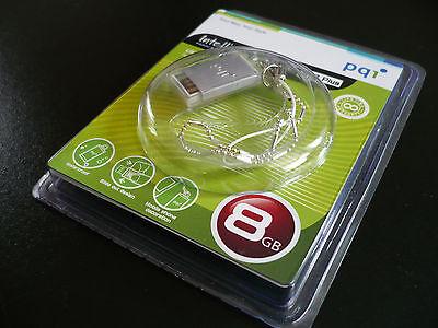 PQI Traveling Disk i810 Plus 8GB USB Drive silver for xBOX windows 8 , windows 7