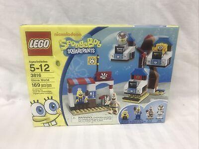 Lego 3816 Spongebob Squarepants Glove World New In Box - New In Box