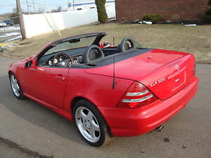 2001-Mercedes-Benz-SLK-Class-SLK320-Roadster-Sport-AMG-Wheels-BOSE-HID
