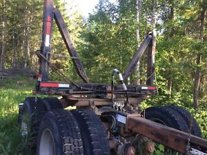 Jeep and pole trailer for sale or trade