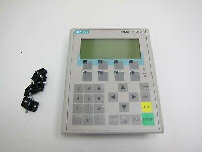 Siemens Simatic Hmi Panel 6av6 641-0ba11-0ax1