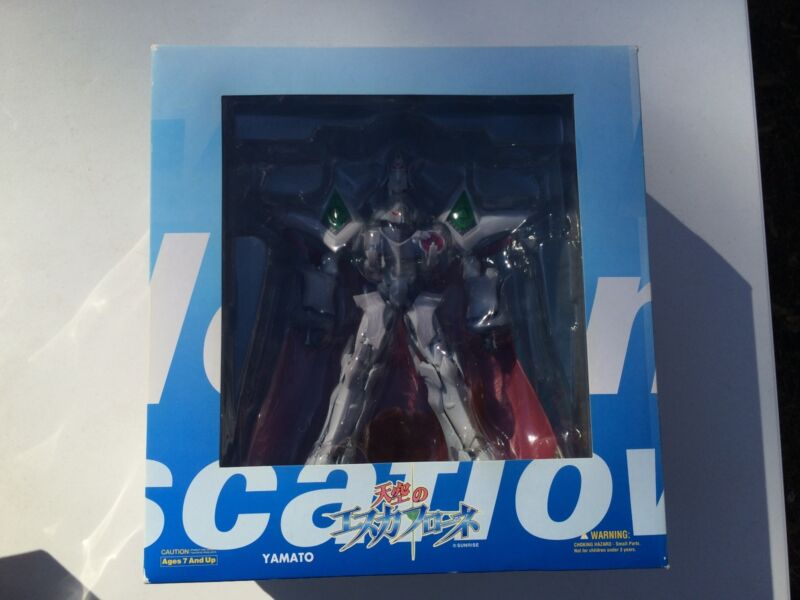 ESCAFLOWNE TRANSFORMABLE FIGURE-BNIB- SUPER RARE FIGHTING/DRAGON MODE