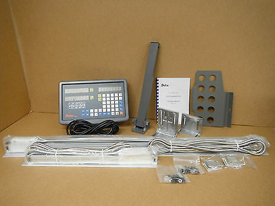 Bridgeport Mill Milling Machine 9x 42 X And Y Axis Dro System Package New