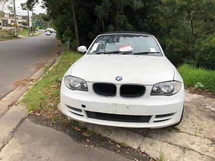 BMW 125I E88 CONVERTBLE WRECKING COMPLETE CAR 4 PARTS ONLY Northmead Parramatta Area Preview