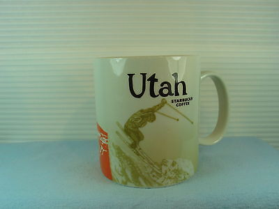 STARBUCKS COFFEE/MUG , UTAH ICON 16-OZ  HTF DISCONTINUED  A GREAT COLLECTIBLE!