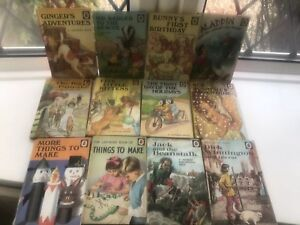 A Collection Of Vintage Original Ladybird Books 1940s 50s 60s 70s