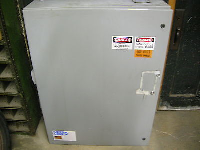 Industrial Electrical Box Enclosure - Loaded With Switches Relays Etc