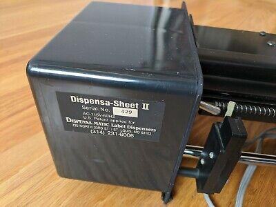 Dispensa Sheet Ii Semi Automatic Label Dispenser For Sheet Labels -- Time Saver