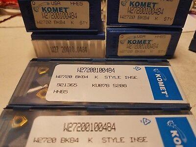 Komet Carbide Insert W27 20010.0484 Bk84 10 Pack New