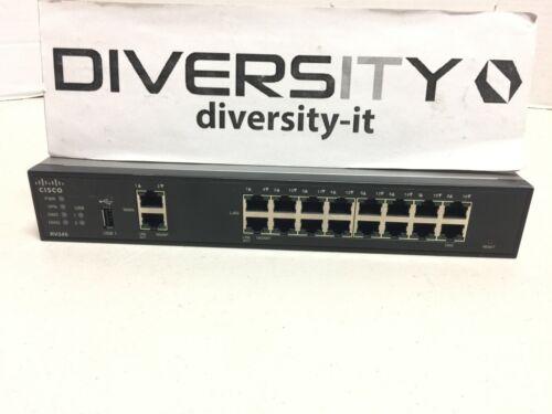 Cisco RV345 Dual WAN 16-Port Gigabit VPN Router RV345-K9-NA