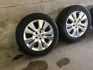 OEM Acura MDX , RDX Rims and tires 235/55/18