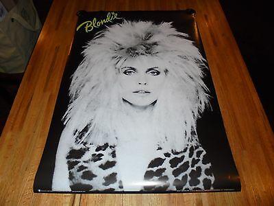 Blondie Poster 24 X 36 Punk Rock 80's Wild Hair Look HOT ( Debbie Harry ) (80s Punk Rock Look)