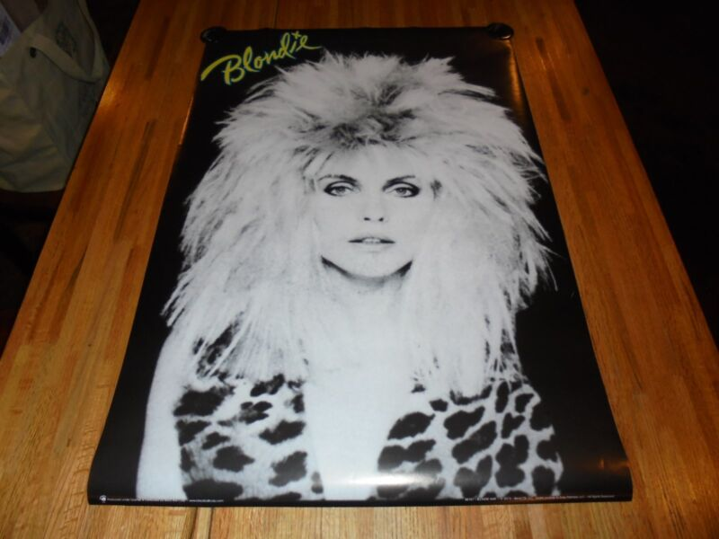 Blondie Poster 24 X 36 Punk Rock 80