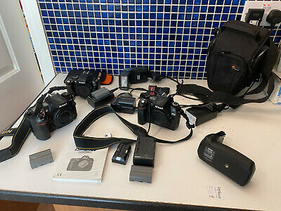 JOB LOT NIKON DIGITAL CAMERAS D200 D70 D40 PLUS ACCESSORIES
