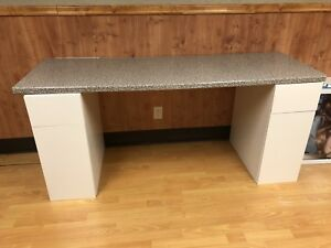 Counter top with drawers/desk
