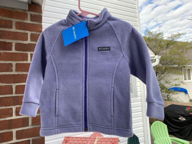 New COLUMBIA Fleece JACKET Baby Girl Size 12-18 Months *Lilac
