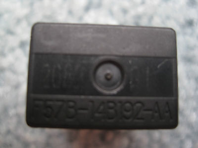 ( OEM Ford Black Rectangle 5 Pin-Relay Part # F57B-14B192-AA )