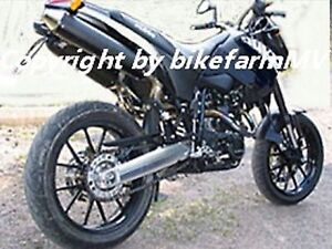 Heckhöherlegung KTM LC4 Duke 1 2 620 625 640 SXC SM SMC +20mm Jack Up Kit Heck