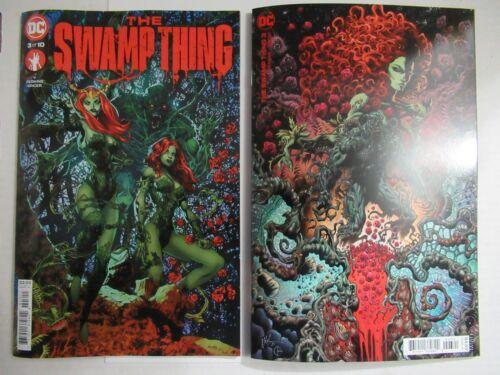 DC Comics 2021 The Swamp Thing #3 Main + Hotz Variant NM